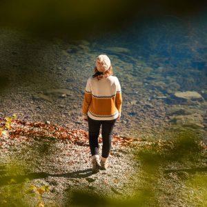 Hanna geht zum Eibsee