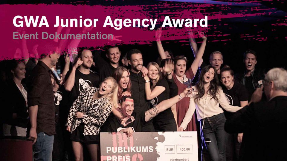 Ein Thumbnail für das Event Dokumentationsvideo des Junior Agency Awards 2016