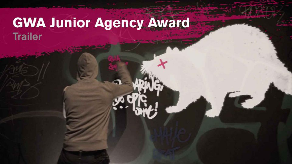 Ein Thumbnail für das Trailer Video des Junior Agency Awards 2016