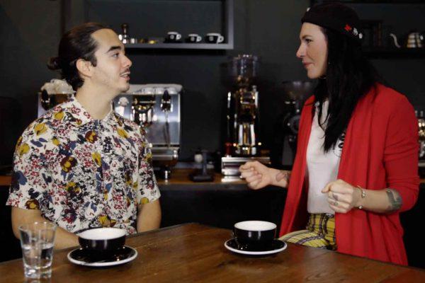 Ken von der Kaffeegang interviewt die German Barista Championship Gewinnerin Nicole Battefeld