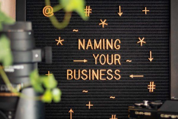 Namensfindung für dein Unternehmen