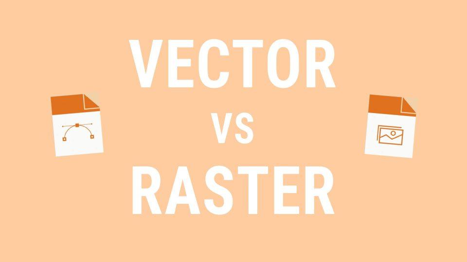 Das Videothumbnail von Vektor Vs Raster unserer Erklärvideoserie